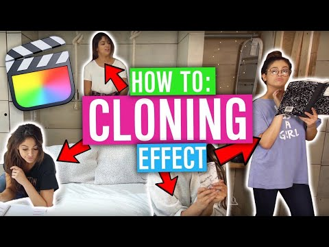 How To Clone Yourself – Final Cut Pro X