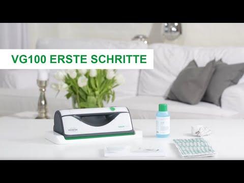 Anleitung   VG100 Fensterreiniger: Erste Schritte