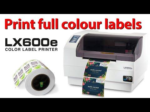 LX600e Colour Label and Tag Printer