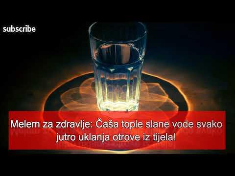 Voda za liječenje hipertenzije