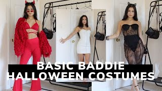 BASIC BADDIE HALLOWEEN COSTUMES FROM PLT | Try-on Haul | Rewearable Costumes