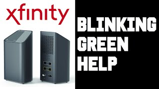 xFi Blinking Green -  How To Fix Xfinity xFi Gateway Wifi Modem Router Blinking Green Light Help