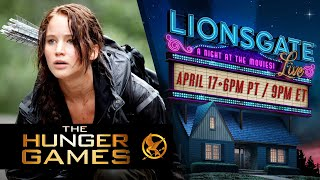 The Hunger Games (2012) - Lionsgate LIVE! A Night At The Movies | #StayHome #WithMe