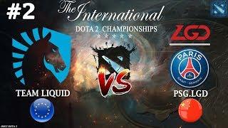 Liquid vs PSG.LGD #2 (BO3) The International 2019