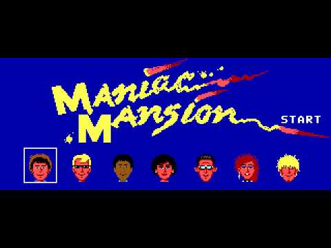 maniac mansion pc buy