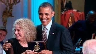 President Obama Honors <b>Carole King</b>