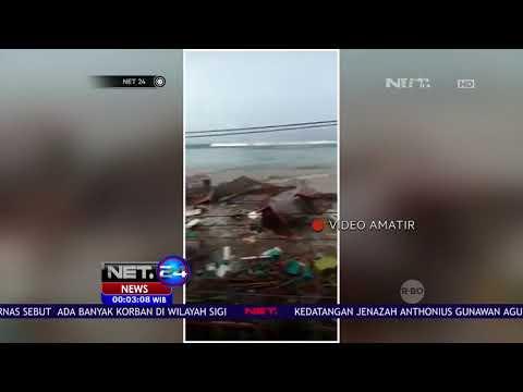 Video Detik detik Tsunami di Pesisir Palu - Net 24
