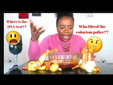 Seafood Boil MUK Bang BLOVE Sauce |What the H3LL is a colorist ??|