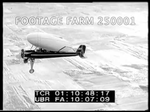 Circular Wing Monoplane 250001-11 | Footage Farm