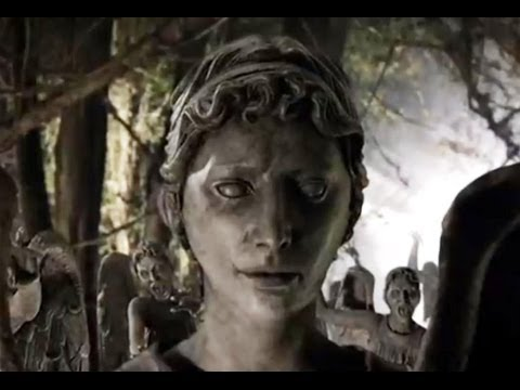 Weeping Angels Fall Into The Crack | Flesh and Stone | Doctor Who | BBC