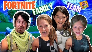 OH NO WE'RE PLAYING FORTNITE!! OUR First TIME Playing FORTNITE! WPFG Family
