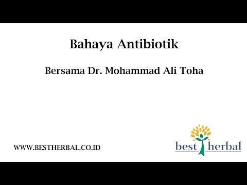 Video BAHAYA MINUM ANTIBIOTIK Best Herbal #09