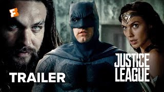 Justice League Official ComicCon Trailer 2017  Ben Affleck Movie
