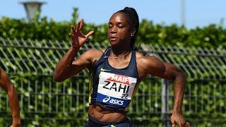 Albi 2020 : Finale 200 m F (Carolle Zahi en 22''98)