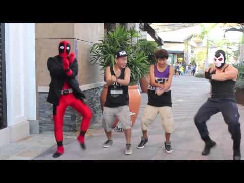 Deadpool vs Gangnam Style.