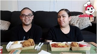 EAT WITH US (MUKBANG) | JOLLIBEE