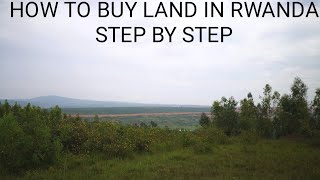 How to buy land in RWANDA. Diaspora Investment Opportunity.