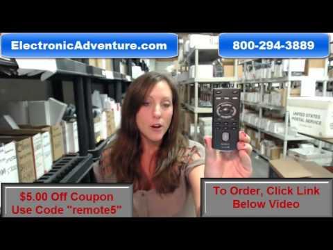Original Sony RM-X151 Car Audio Remote Control (147907713)$5 Off-ElectronicAdventure.com
