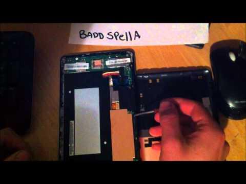 How To Fix A Loose Nexus 7 Screen