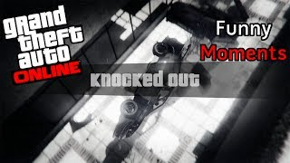 GTA 5 Online - Funny Moments | Mini Games and Sticky_Cac_Sleep