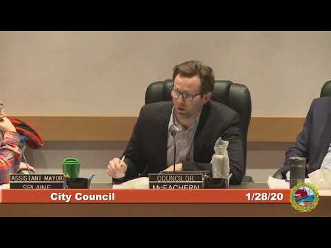 City Council Work Session/Special Meeting Re: Mcintyre Project 1.28.2020
