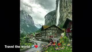 😱 Rainy days are the best! ☔️ 😍  Jungfrau, Switzerland 🇨🇭