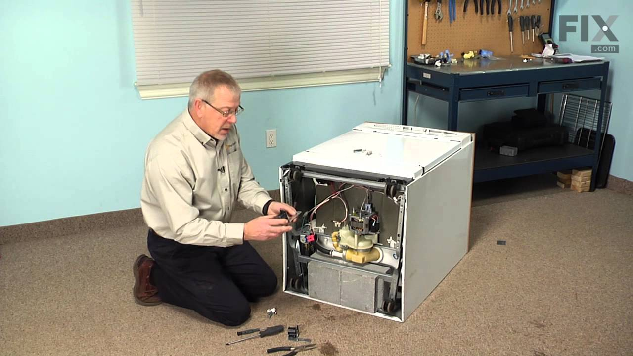 Replacing your General Electric Dishwasher Drain Solenoid Kit