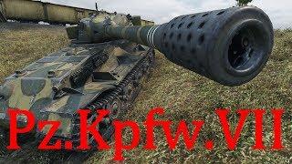 【WoT:Pz.Kpfw. VII】ゆっくり実況でおくる戦車戦Part376 Byアラモンド