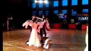 preview picture of video 'Walc angielski, pow.15, klasa E, Turniej Tańca, Sułkowice 03.02.2013'
