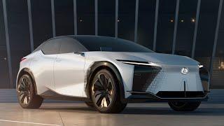 NEW LEXUS CONCEPT CAR | LF-Z ELECTRIFIED