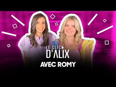 L'INTERVIEW DE ROMY #LeClicDAlix w/ @ROMY