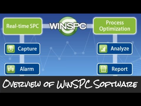 A high-level introduction to the core concepts in WinSPC. (WinSPC V9)