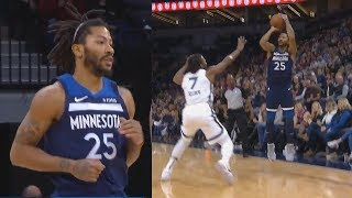 Derrick Rose Shows Timberwolves Why He Should Be A Starter! Timberwolves vs Grizzlies