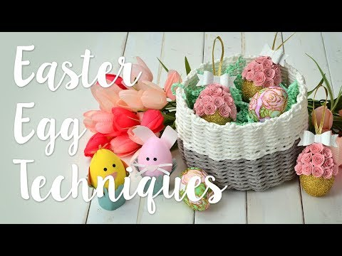 DIY: Easter Egg Techniques