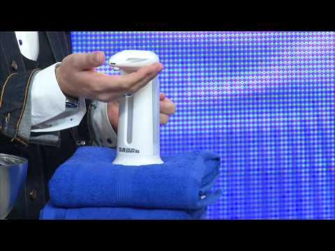 PEARL automatischer Seifenspender mit Bewegungssensor grau