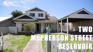2 McPherson Street Reservoir