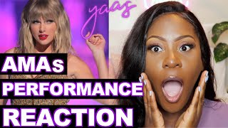 Taylor Swift - AMA Performance 2019 REACTION | Artist of the DECADE!!