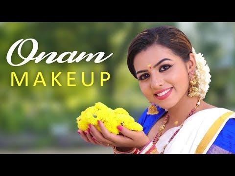 Onam Special Makeup Look 2019 | For Long lasting Simple Makeup #Onammakeuplook