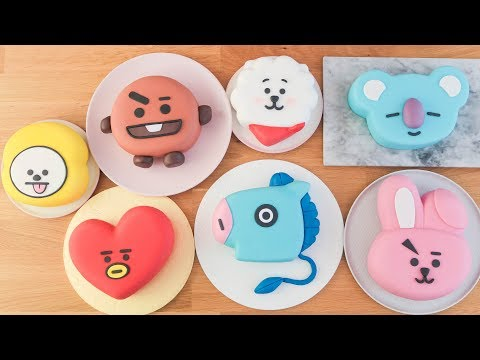 How To Make BT21 Cakes - Compilation - TAN DULCE