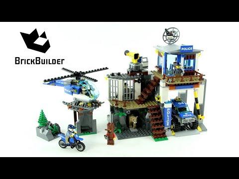 Vidéo LEGO City 60174 : Le poste de police de montagne