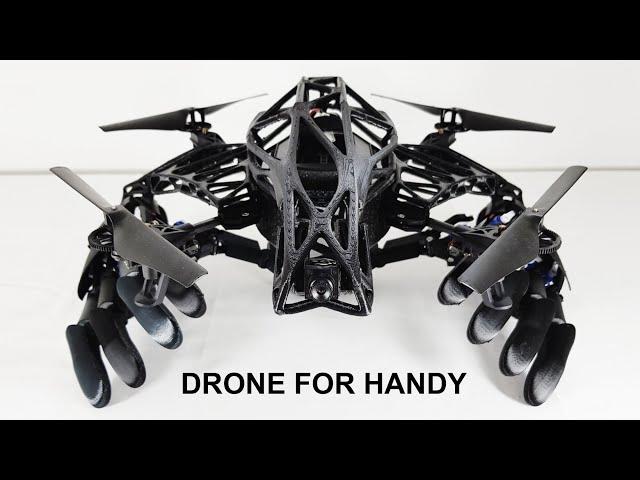 Youbionics представила дрона с бионическими руками