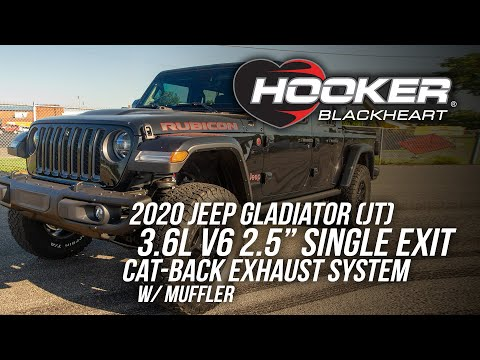 Jeep Gladiator Single Exit Cat-Back Exhaust System w/Muffler