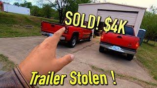 2001 F150 Sold! Trailer Stolen! New Running Boards!! Bad Week!