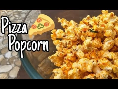 How To Make Pizza Popcorn At Home | Movie Night Snacks | 5 Min Snack Recipe