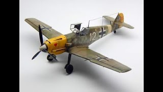 Messerschmitt Bf 109E-4 Tamiya 1:48 Step by Step