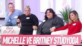 Amerika'ya Evlatlık Olarak Verilen Michelle Ve Britney Stüdyoda - Esra Erol'da 5 Ocak 2018