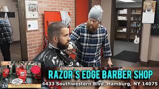 "DISC 162 - ""Razor's Edge Barber Shop"", Hamburg, NY"