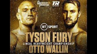 Fight Night Champion Тайсон Фьюри - Отто Валлин