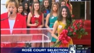 2013 Tournament of Roses Court Announcement 10/8/12