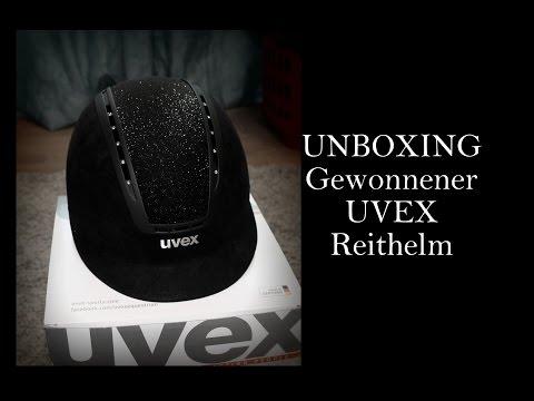 UNBOXING: Gewonnener Reithelm von UVEX